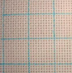 Pentru tesatura solubil în apă solubil marker albastru subțire
