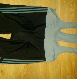 Pantaloni scurți pentru bicicletă (costum) Adidas Original XL