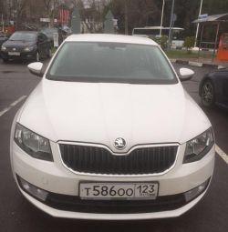 Skoda Octavia sedan.2014g