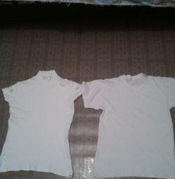 T-shirt + jacheta