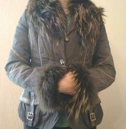 Jacket cu mătase raton p 44