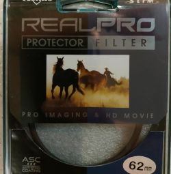 KENKO 62S REALPRO PROTECTOR filter with moisture / dirt