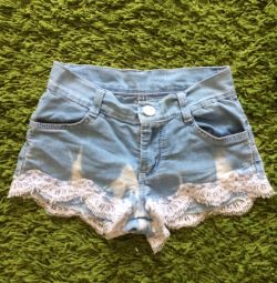 Shorts for a girl 140cm