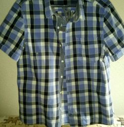 Men's shirt with a short sleeve of river 48