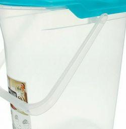 Powder bucket