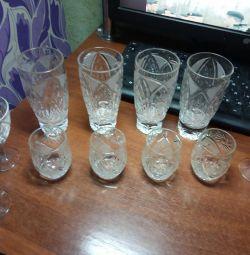 Sticlărie din cristal
