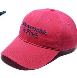 Abercrombie & Fitch Baseball Cap (Burgundy)