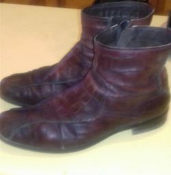 Used spring-autumn boots for men 46 sizes