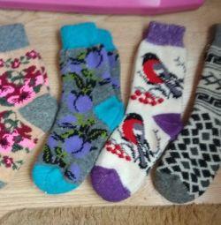 Шкарпетки шерстяние.НОВИЕ