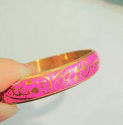Bracelet, India, Brass