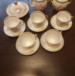 Τσάι για 5 άτομα.