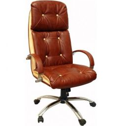 Кресло руководителя Уют-Комби Хром