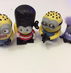 Minions toys from mcdonalds
