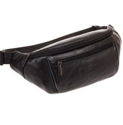 Deri erkek kemeri çantası