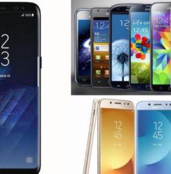 Новий Samsung Galaxy (J3, A3, A5, A10, A20, S7, S8, S9)