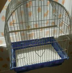 Kuşlar için kafes