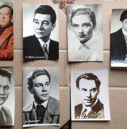 Artiști, cărți poștale ale Casei Kashirin URSS