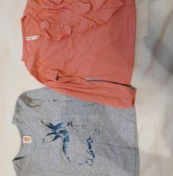 T-shirts B. size 98