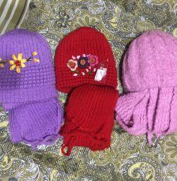 Νέες σειρές καπέλου και κασκόλ