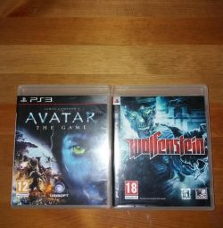 Wolfenstein and avatar on ps 3
