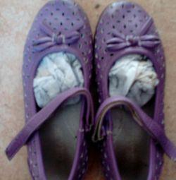 Παπούτσια λιλά r28