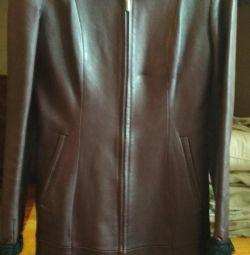 Leather cloak