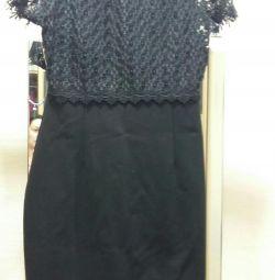Rochie cu dantelă înapoi