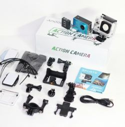 Delivery Action Camera 4K Wi-Fi 16Mp Screen SOS