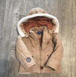 Куртка вельветовая на синтепоне