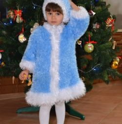 Christmas costume Snow Maiden for 2-3 years