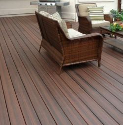 Larch deck board 120x35