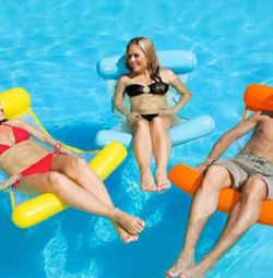 Inflatable swimming hammock Floating Bed