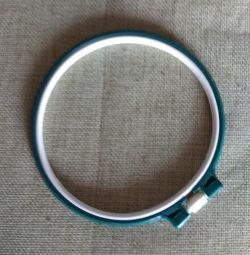 Plastic hoop.
