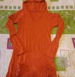 New tunic with hood and pockets p.42-44