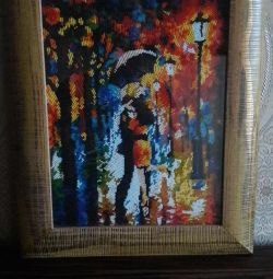 Picture of beads embroidery