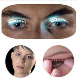 Glowing LED Eyelashes / Led Ribbons