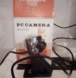 νέα κάμερα web με μικρόφωνο