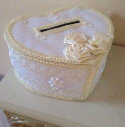 Cutie de nuntă pentru bani