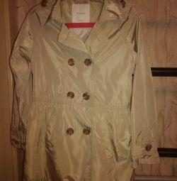 Пальто плащ детский Mango, 7-8 лет