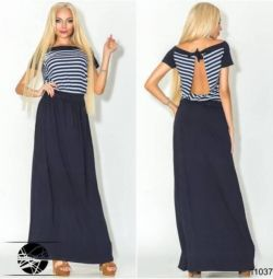 Φόρεμα με ανοικτή πλάτη 11037