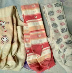 Kız 80-86 beden için külotlu çorap