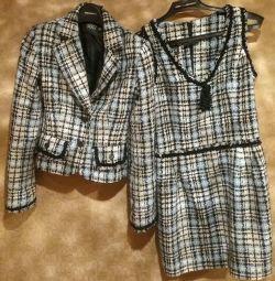 Φόρεμα και σακάκι