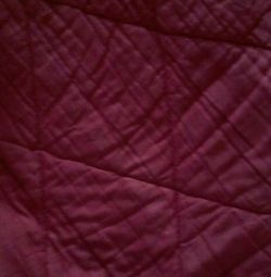 Cotton quilt, normal condition.