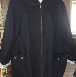 Джинсовий куртка 58размер.