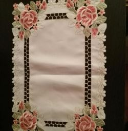 New set of napkins of 9 pieces