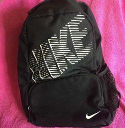 Рюкзак NIKE , чёрный