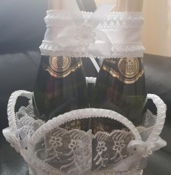 Wedding Champagne Basket