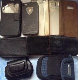 Covers, handbags