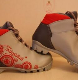 Boots for cross-country skiing Bambini solution 34