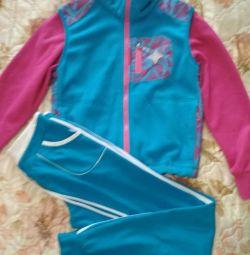 Sweatshirt fleece and sport trousers